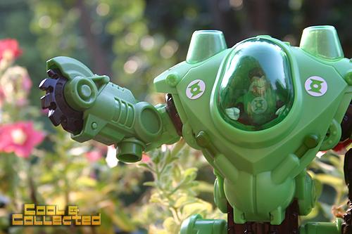 Fisher Price Imaginext Green Lantern robot