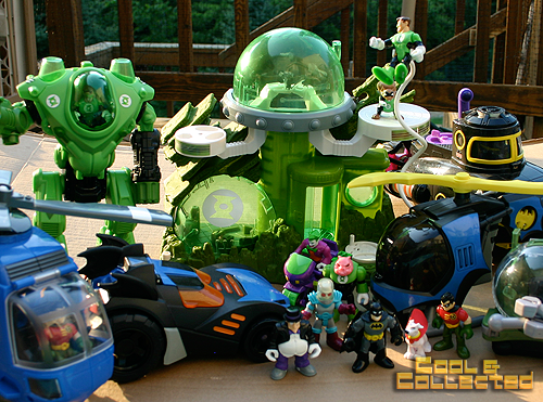 Fisher Price Imaginext toy collection