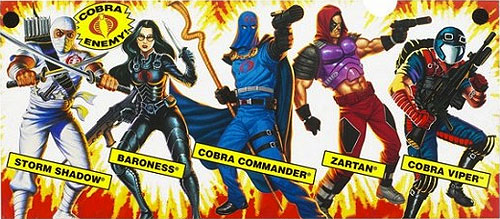 gi joe cobra action figures