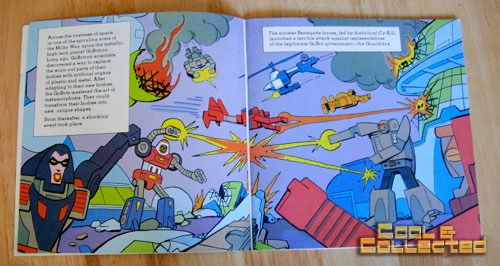 gobots children's book illustrated by steve ditko