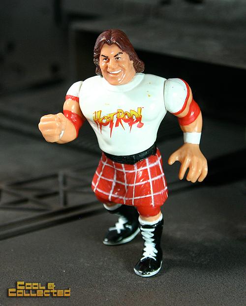 Rowdy Roddy Piper WWF Action Figure - Titan toys