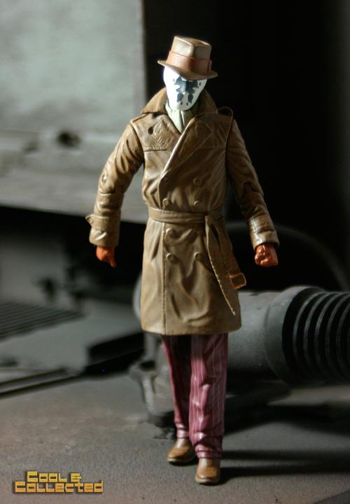 Watchmen Rorschach action figure