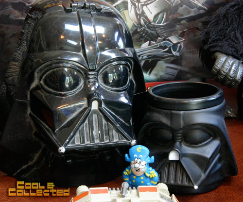 star wars darth vader mug and playset