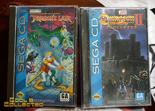 garage sale find - sega cd dragon's lair