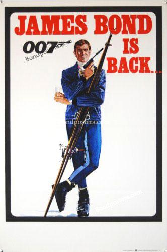 James Bond On Her Majesty's Secret Service UK DC
