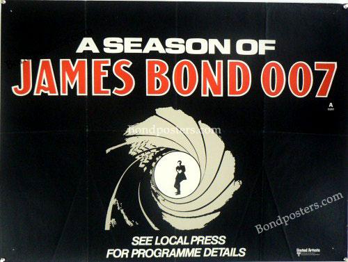 Season of James Bond UK Quad