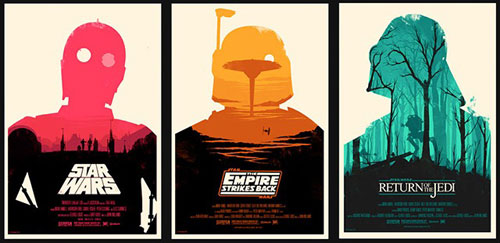 Olly Moss Star Wars Posters - Mondo