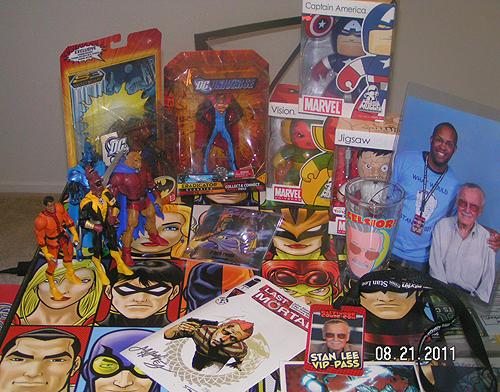 Baltimore Comicon haul