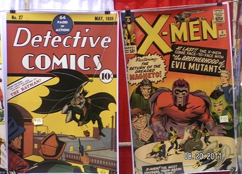 baltimore comicon Batman and X-Men comics