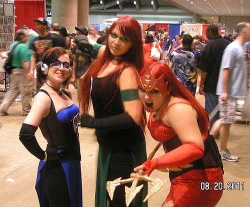 Baltimore Comicon cosplay