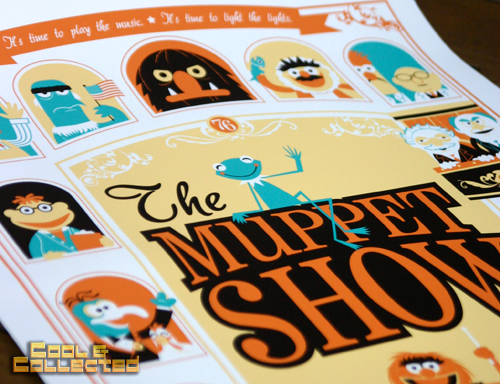 """dave perillo - """"It's the muppet show"""" print - acme archives"""
