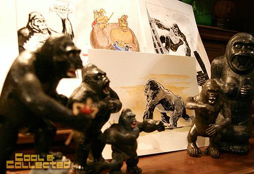 King Kong collection