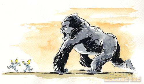 King Kong illustration by Chris Tupa