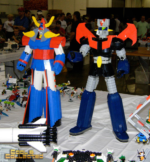 lego brickfair 2011 - Shogun Warriors
