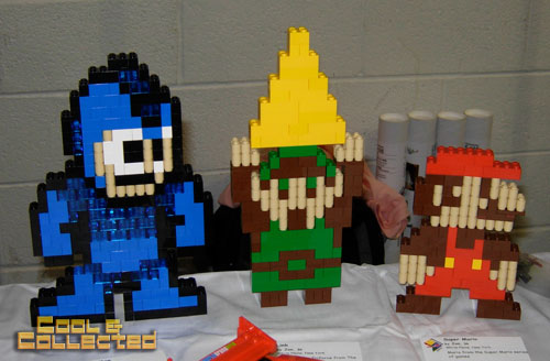 lego brickfair 2011 - Mario and Link