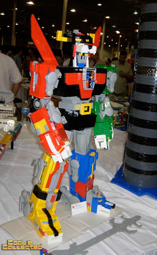 lego brickfair 2011 - Voltron