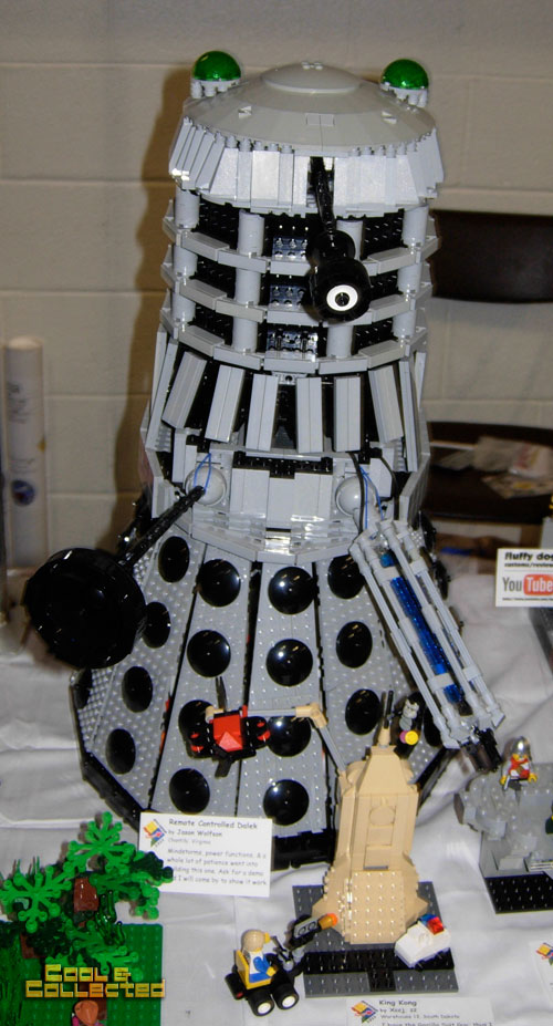 lego brickfair 2011 - Doctor Who Dalek