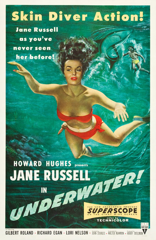 movie poster collection - vintage jane russell poster