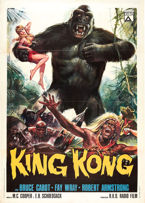 movie poster collection - vintage king kong