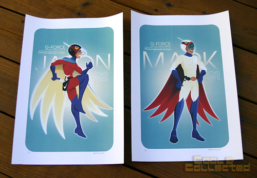 Neal McCulough - Battle of the Planets illustrations