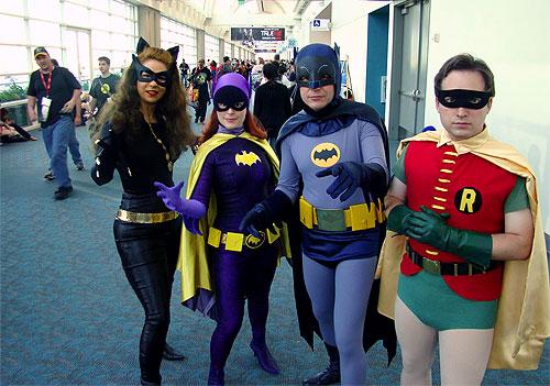 san diego comiccon sdcc Batman cosplayers