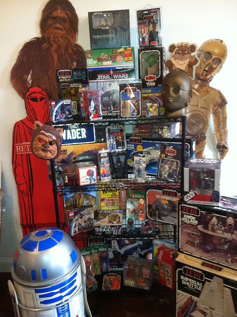 star wars robert fisher collection