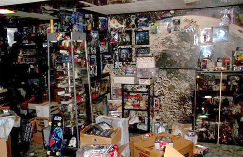 Second largest star wars toy collection in the world