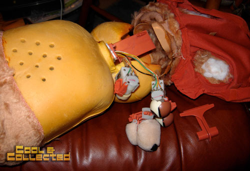 teddy ruxpin doll surgery