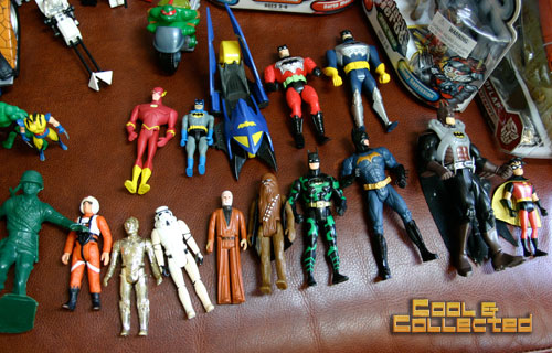 yard sale vintage kenner star wars action figures