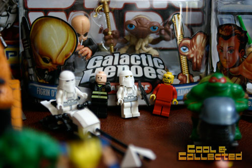 yard sale lego star wars minifigs