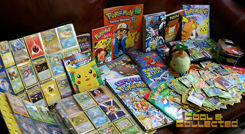 yard sale pokemon collection