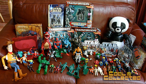 yard sale toys and action figure haul