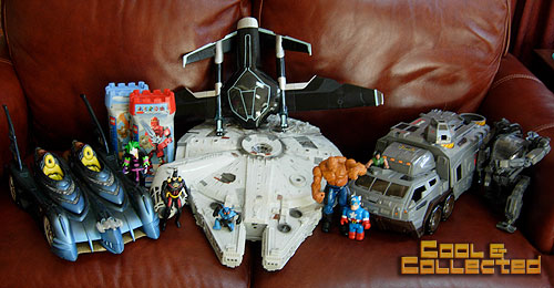 yard sale finds - Star Wars Millenium Falcon