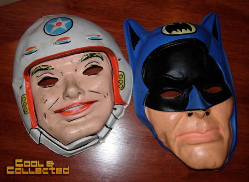 vintage ben cooper Halloween masks