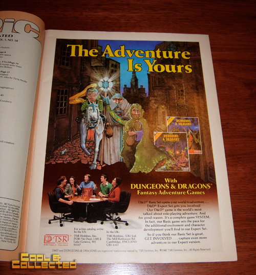 dungeons and dragons ad