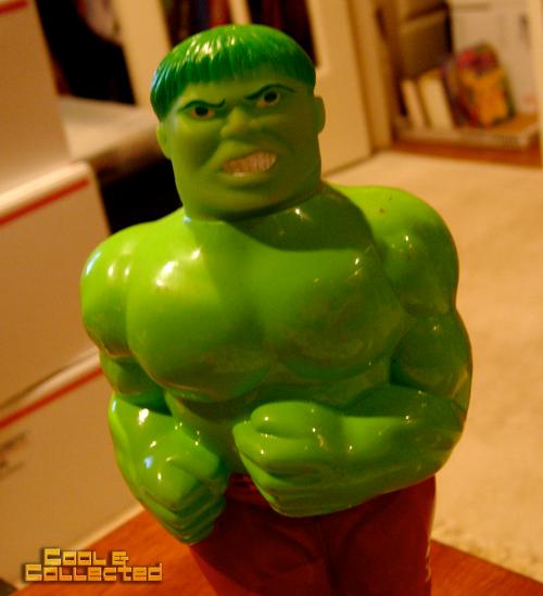 incredible hulk bubble bath bottle