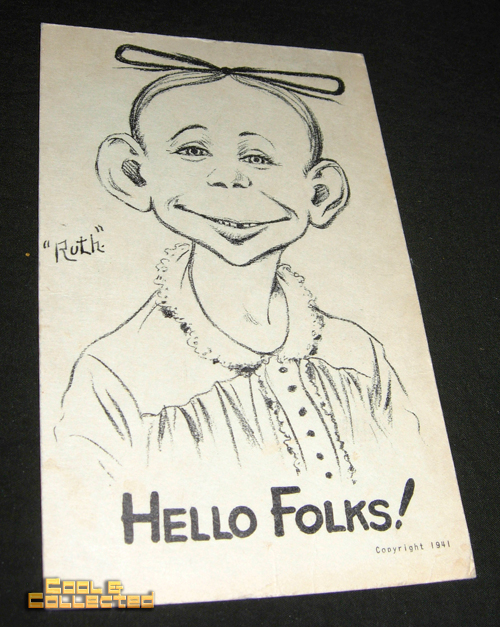 dc big flea - vintage alfred e neuman prior to Mad Magazine's publication