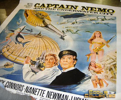 dc big flea - captain nemo 6-sheet movie poster