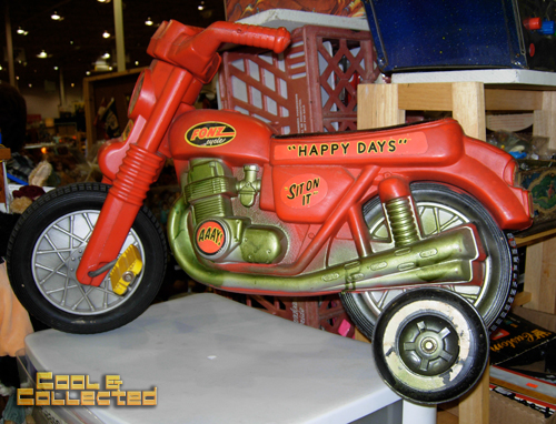 dc big flea - Happy Days fonzie bike