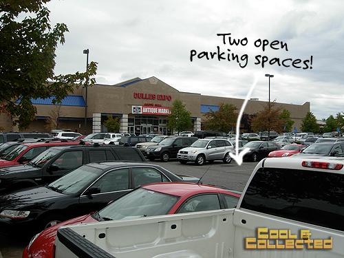 DC Big Flea parking lot in Chantilly, Virginia