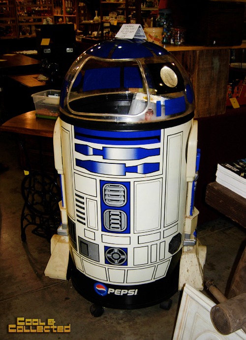 dc big flea - Star Wars r2d2 Pepsi cooler
