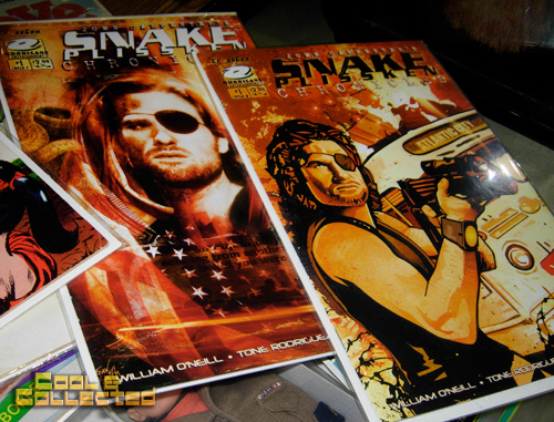 dc big flea - snake plissken comic books