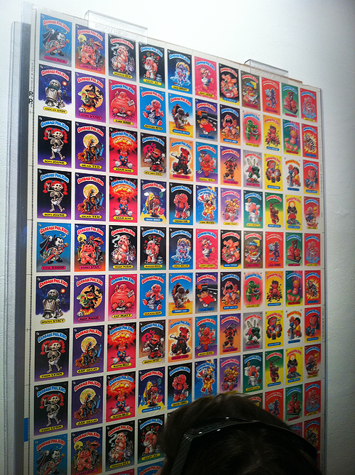 Garbage Pail Kids Gallery 1988