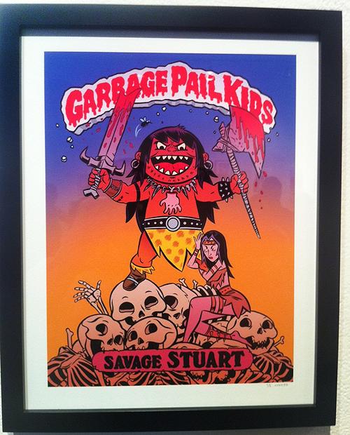 Garbage Pail Kids - Gallery 1988 - Conan