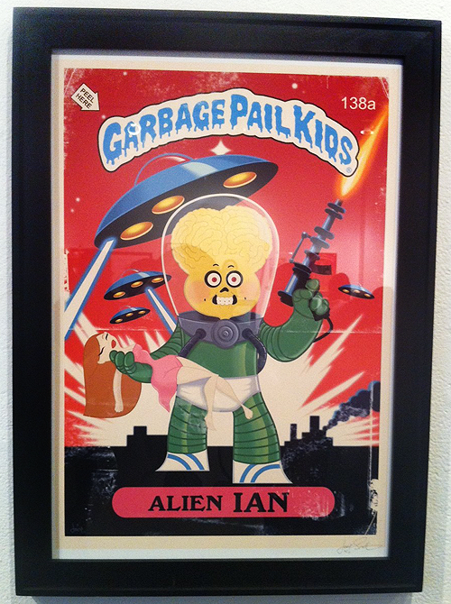Garbage Pail Kids - Gallery 1988 - Martian