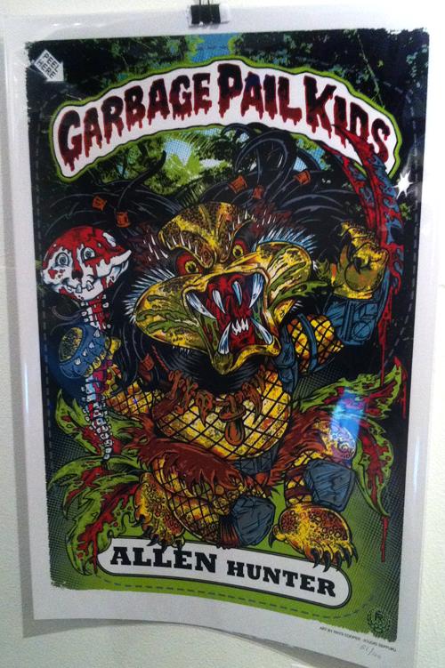 Garbage Pail Kids - Gallery 1988 - Predator