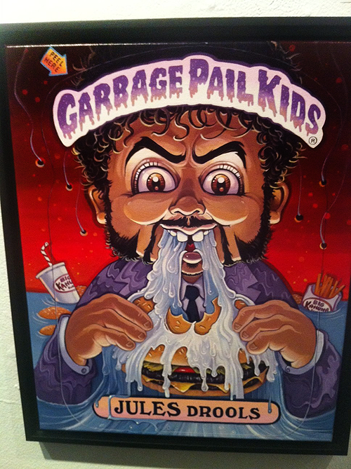 Garbage Pail Kids - Gallery 1988 - Pulp Fiction