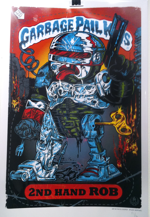 Garbage Pail Kids - Gallery 1988 - Robocop
