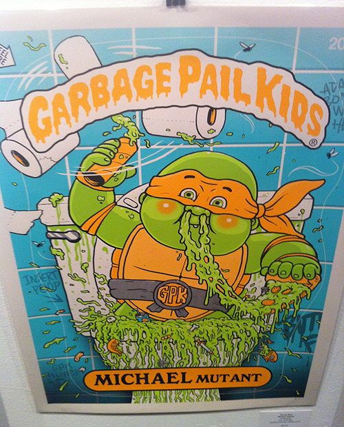 Garbage Pail Kids - Gallery 1988 - Teenage Mutant Ninja Turtles