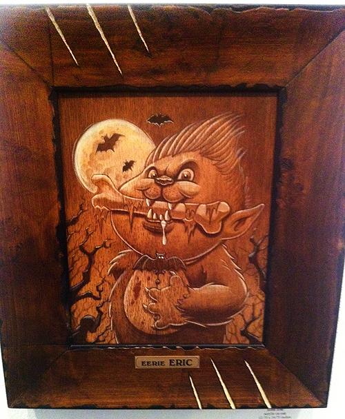 Garbage Pail Kids - Gallery 1988 - Werewolf